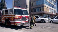 Fuerte olor a gas en despacho moviliza a bomberos en la colonia San Felipe | El Puntero