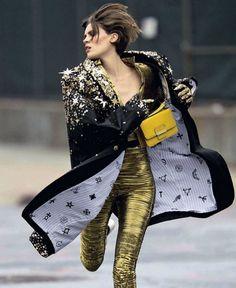 'Effetto Futuro'  Alison Nix By Hans Feurer Glamour Italia, September 2012    Love