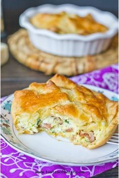 Copycat Panera Spinach and Cheese Egg Souffle | What a delicious breakfast recipe!
