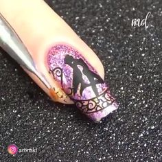 Looking for some new nail design ideas? Nail Art Designs Videos, New Nail Designs, Nail Art Videos, Acrylic Nail Designs, Christmas Nail Art Designs, Holiday Nail Art, Christmas Nails, Green Christmas, Simple Christmas