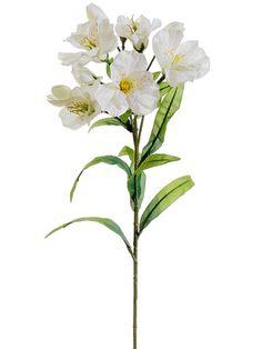 Ivory Alstroemeria Spray | Silk Flowers | Afloral.com
