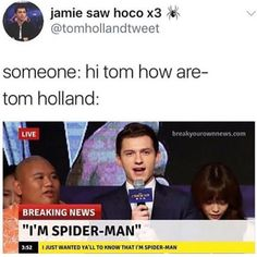 I would too if i was Spider-Man