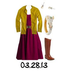 OOTD 3/28/13 by jlcl119 on Polyvore