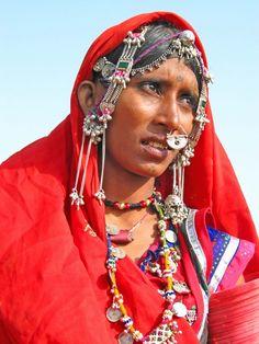India | Portrait of a Mir woman. Gujarat | ©Huub Verbeek