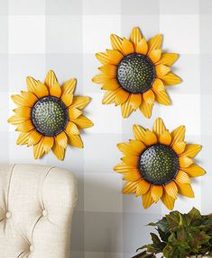 April 2021 LTD Metal Flower Wall Decor, Metal Flowers, Outdoor Landscaping, Outdoor Decor, Vegetable Garden Design, Pink Daisy, Subtle Textures, Solar Lights, Fall Crafts