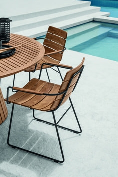 William Dining Chairs By Gloster The Worm That Turned Revitalising Your Outdoor E