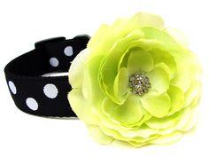Dog Collar Flower Add-on to your Custom Dog Collar