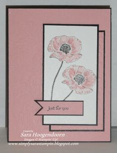 My design for Try Stampin' on Tuesday sketch challenge #150.