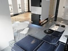 HOME DESIGNING: Three Modern Apartments Under 40 Square Metres That Ooze Class http://www.davincilifestyle.com/home-designing-three-modern-apartments-under-40-square-metres-that-ooze-class/         Like Architecture & Interior Design? Follow Us…  Many people view small apartments with apprehension, thinking that they won't have enough space to fully unleash their design aspirations. But small doesn't have to mean cramped or limited. Small apartments a