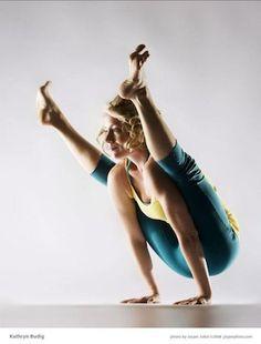 Kathryn Budig Yoga Challenge Pose: Firefly