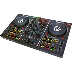 ION Audio Numark Party Mix Digital Dj Controller with Built in Light Show Dj Speakers, Powered Speakers, Dj Mixing, Usb, Virtual Dj, Playstation, Xbox, Dj System, Control System