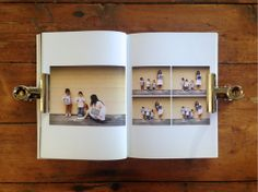 Landscape photos in portrait album  Maternity photo book by Rhonda Mason/Pink Ronnie (www.pinkronnie.com)