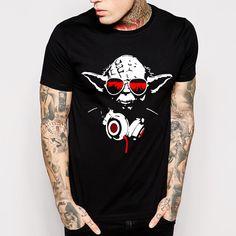 New Star Wars Yoda T-Shirt - free shipping worldwide