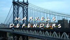 The Defenders y su divertida cabecera al estilo Friends  #celebrity #news #photos #movies #tvshows