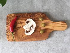 Oliven Holz Schneidebrett / hacken Board kleine rechteckige