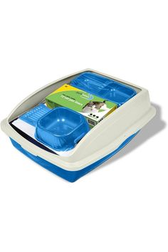 (This is an affiliate pin) Size:LargePureness cat starter kit. Includes large framed litter pan with litter scoop, cat pan liners, water dish and double diner. Assorted colors. Ideal for first time cat owners who would benefit from a comprehensive starter kit. High polished finish that is odor and stain resistant and easy to clean. First Time Cat Owner, Litter Pan, Cat Feeder, Starter Kit, Pet Supplies, Van, Benefit, Dish, Blue