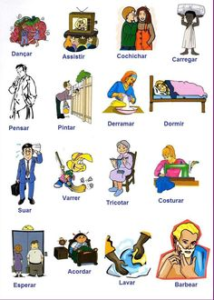 Action Verbs in English English Verbs, Learn English Grammar, English Fun, English Class, English Lessons, English Vocabulary, Teaching English, English Test, French Grammar