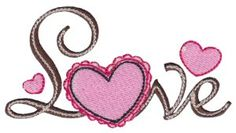Bunnycup Embroidery | Free Machine Embroidery Designs | Valentines Sentiments