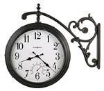 Howard Miller Luis Double Sided Indoor/Outdoor Hanging Wall Clock 625358