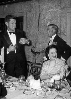 WIth JFK 1957