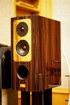 Nice bookshelf speaker Music Speakers, Hifi Speakers, Monitor Speakers, Bookshelf Speakers, Hifi Audio, High End Hifi, High End Audio, Fi Car Audio, Sound Room