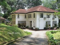 Colonial 'Black and White' House, 5 Russels Road, Alexandra Park, Singapore