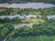 Amfreville, France by Julliette Carignan
