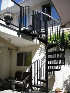 2 Story Spiral Stair By The Iron Shop | Metals | Pinterest | Spiral Stair