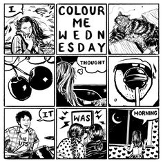 I Thought It Was Morning | Colour Me Wednesday