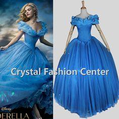 HOT Movie Cosplay Cinderella Cosplay by crystalfashioncenter