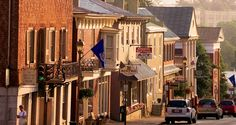 This is the town that the stranger visits Main Street America, Small Town America, Lexington Virginia, West Virginia, Great Places, Places To See, Beautiful Places, San Luis Obispo County, Virginia Is For Lovers