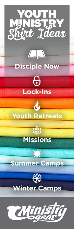 t-shirt ideas for disciple now, lock-in, Youth retreats, missions, summer camps, winter camps