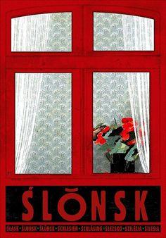 Ślonsk, plakat promocyjny, Ryszard Kaja - Galeria Polskiego Plakatu