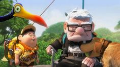 up movie | Up the 3D animated movie from Disney / Pixar. Kurt, Russel, Dug and ...