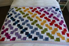 Tumbling Colours  Crochet Pattern