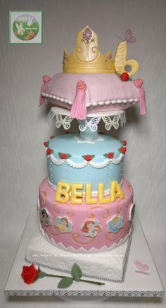 Princess for Bella - Cake by AWG Hobby Cakes