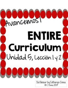 Avancemos 1 unit 3 lesson 2 entire chapter curriculum spanish avancemos unit 5 lesson 1 and 2 bundle of all my curriculum for the unit by sol azcar fandeluxe Choice Image