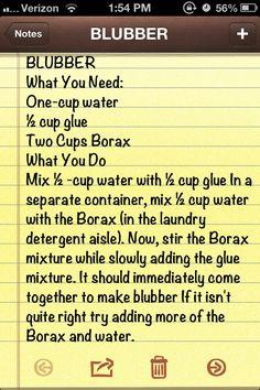 Preschool ocean theme: How to make blubber