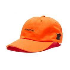 Undefeated x Anti Social Social Club Paranoid Hat Orange! http://streetwearvilla.com/hats/strapback-hats/undefeated-anti-social-club-paranoid-strapback-hat-black #undefeated #antisocialsocialclub #dadcap #streetwear #fashion