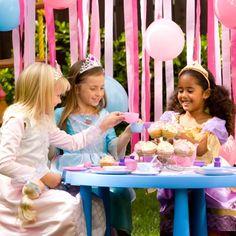 Princess themed birthday parties kids