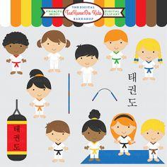 tae kwon do clipart taekwondo clip art - TaeKwonDo Kids Clipart