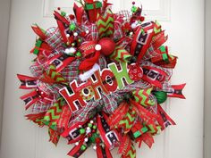 Deluxe Ho Ho Ho Santa Hat Christmas Holidays by NicoleDCreations, $109.00