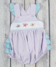 This romper's bubble-like design gives a little gal plenty of room for movement while remaining snug, and the soft materials cushion her body ever-so gently.