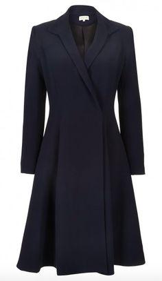 "Diane von Furstenberg Double Breasted Coat Temperley London ""Callas"" Evening Coat - $1550 Mulberry ""Paddington"" Coat - $1580 Erdem Resort 2016 Speckled Plaid Coat Catherine Walker Cream Coat Carolina..."