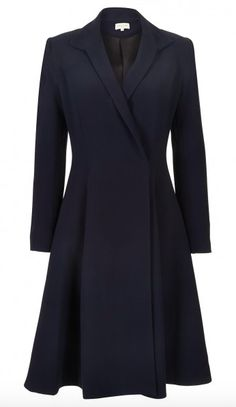 "Diane von Furstenberg Double Breasted Coat Temperley London ""Callas""  Evening Coat -  1550 Mulberry 92a3fe5d1"