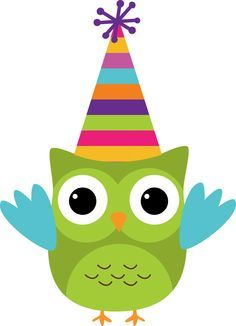 Jarig uiltje Happy Birthday Clip Art, Birthday Clips, Owl Birthday Parties, Owl Clip Art, Owl Art, Diy For Kids, Crafts For Kids, Owl Classroom, Owl Pictures