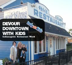 Devour Downtown Indianapolis offers value priced menus at top Indianapolis restaurants, including kid friendly locations! http://www.indywithkids.com/devour-downtown-indy-with-kids/