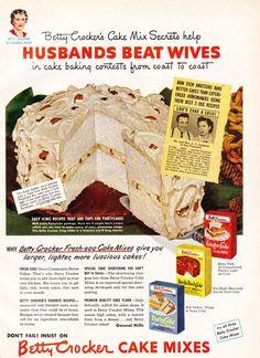 Betty Crocker - Husbands Beat Wives