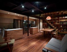 Interior de madera.