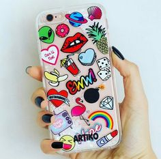 Find images and videos about fashion, iphone and moda on we heart it - the app to get lost in what you love. Iphone Cases Cute, Cool Cases, Diy Case, Diy Phone Case, Ipod 6, Aesthetic Phone Case, Coque Iphone, Iphone Accessories, Apple Products